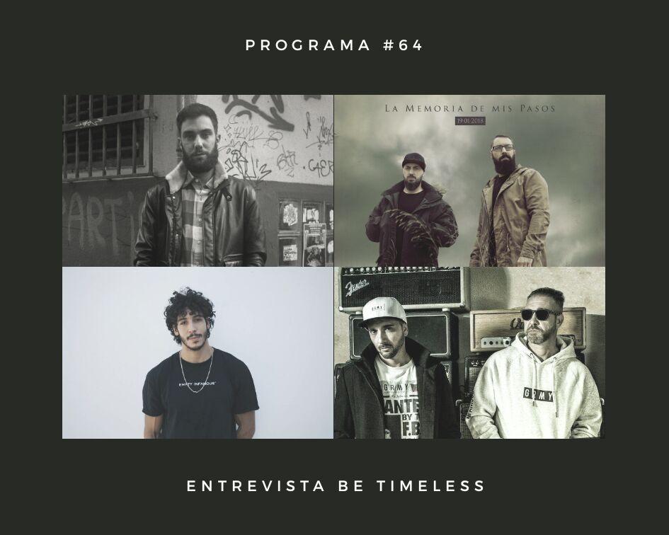 Radio-Hip-Hop-Rap-El-V-Elemento-Programa-64-Entrevista-Be-Timeless