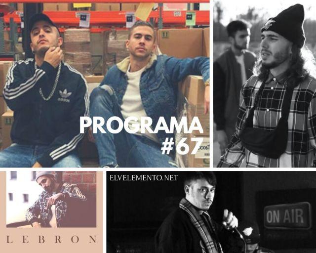 Radio-Hip-Hop-Rap-El-V-Elemento-Programa-67-Especial-Lebron