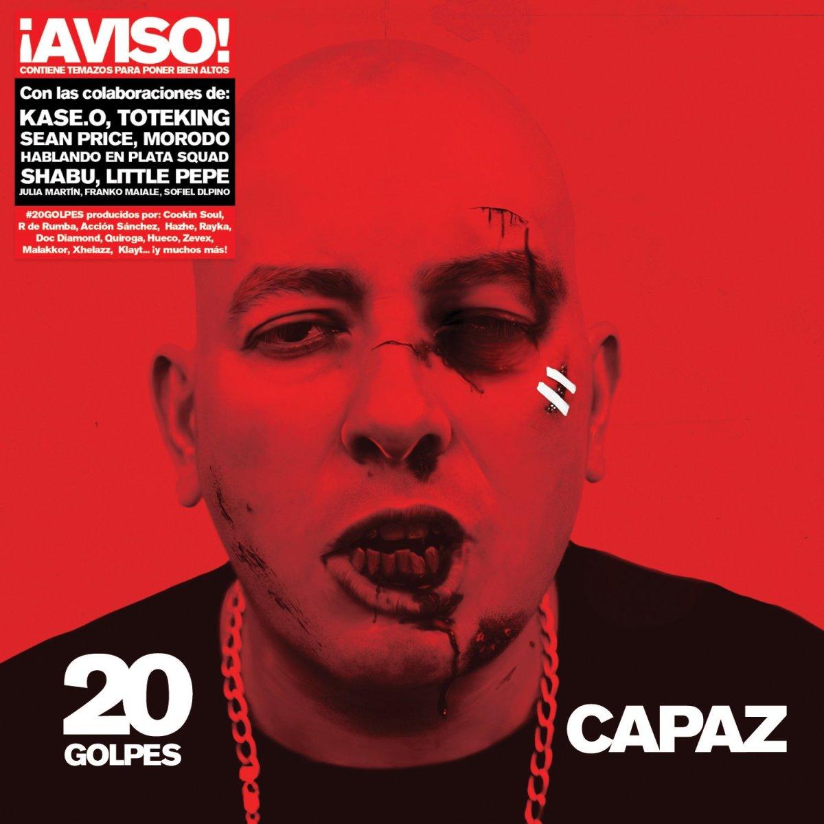Los 20 Golpes de Capaz: Info, Tracklist y Anticipo