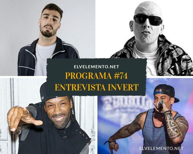 Radio-Hip-Hop-Rap-El-V-Elemento-Entrevista-Invert-Programa-74
